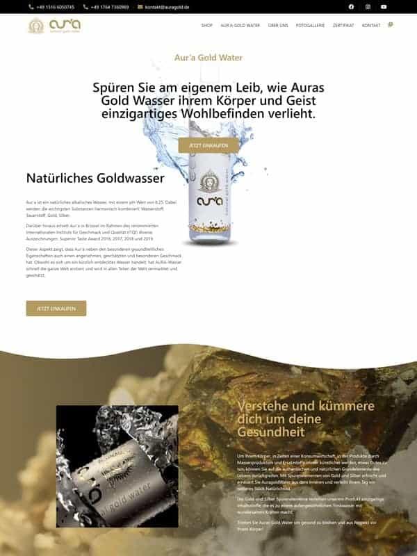 www.auragold.de-landingpage